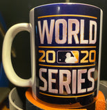 Dodgers World Series 2020 + Name/Number 11oz Coffee Mug