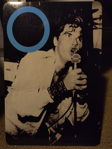 Germs Darby Crash Aluminum Sign