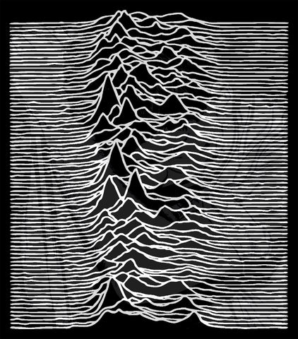 Joy Division Unknown Pleasures/Ian Curtis Flag