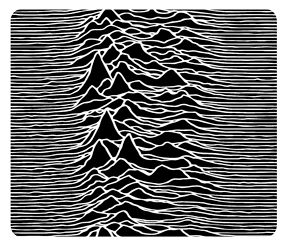 Joy Division Unknown Pleasures Mousepad
