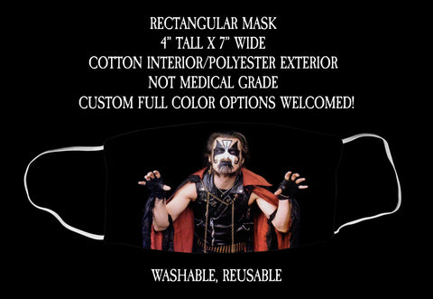 King Diamond Face Mask