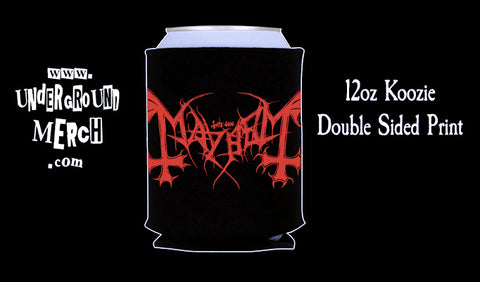 Mayhem 12oz Koozie