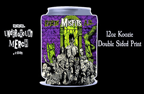 Misfits Earth A.D. 12oz Koozie