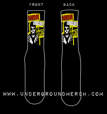 Misfits Horror Business Socks
