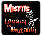 Misfits Legacy of Brutality Mousepad