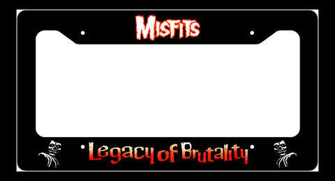Misfits Legacy of Brutality License Plate Frame