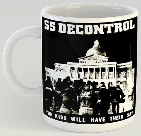 SS Decontrol The Kids Will Have Their Say 11oz Coffee Mug