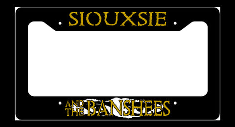 Siouxsie Eyes License Plate Frame