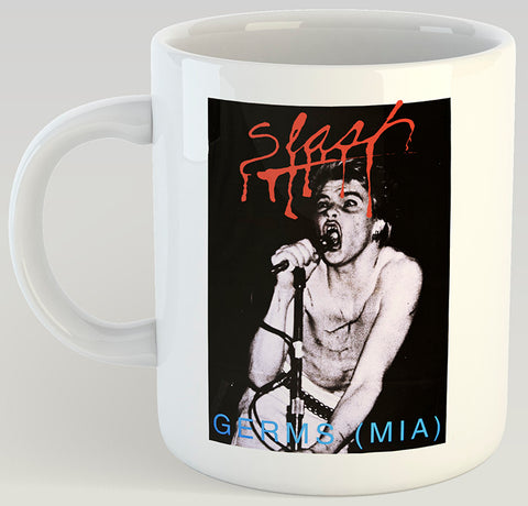 Slash Magazine Darby Crash 11oz Coffee Mug