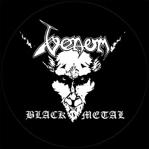 Venom Black Metal Slipmat