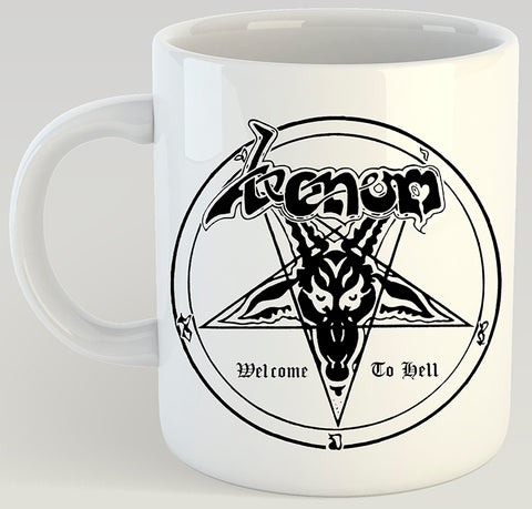 Venom Welcome To Hell 11oz Coffee Mug