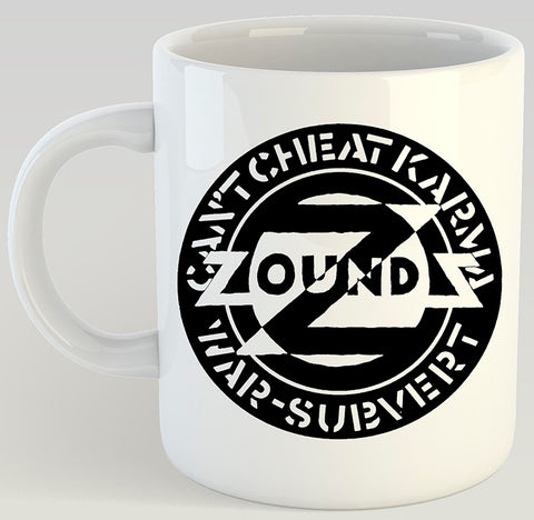 Zounds Can't Cheat Karma 11oz Coffee Mug