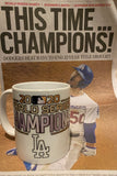 Dodgers World Series 2020 CHAMPIONS + Name/Number 11oz Coffee Mug