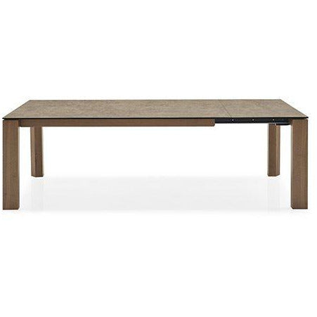 Calligaris OMNIA GLASS Extendable Table CS/4058-LV 220 - Calligaris Westchester