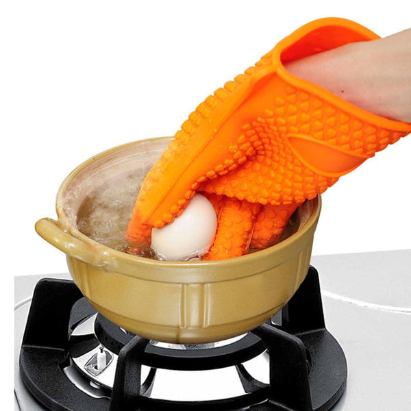 Silicone Heat Resistant Gloves-itoopia
