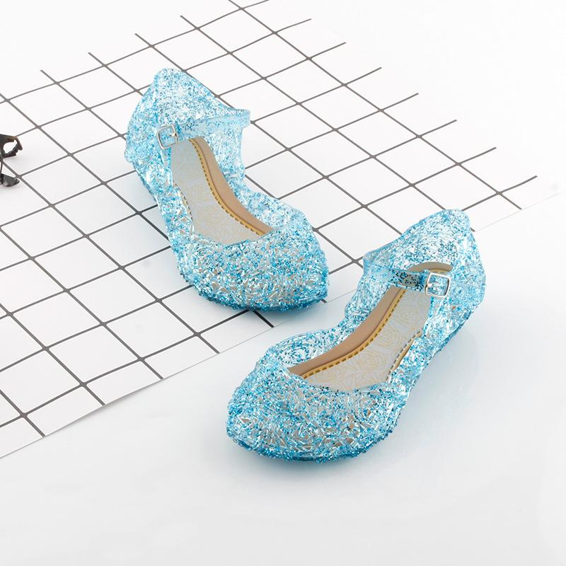 Girls High Heel Princess Shoes