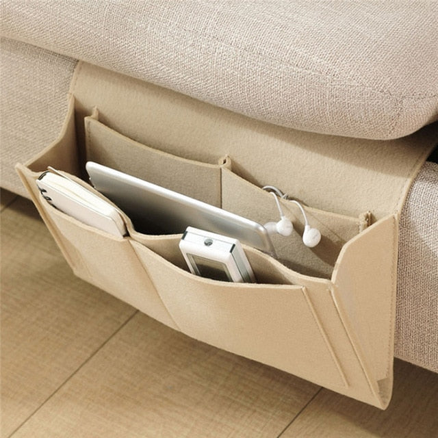 Hanging Bedside Couch Storage Organizer