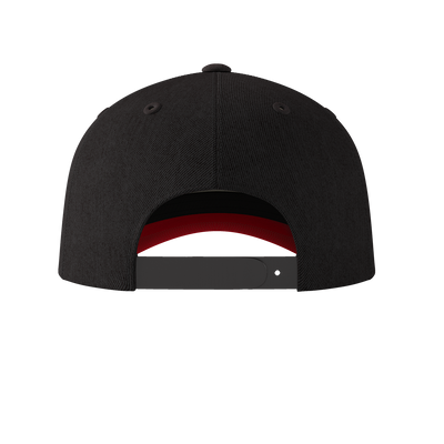 Blazing Bull Cap - Black - Back View