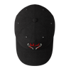 Blazing Bull Cap - Black - Top View