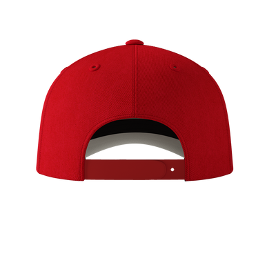 Blazing Bull Cap - Red - Back View