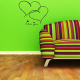 Removable Vinyl Decal Art Mural Valentine's Home Living Room Decor Wall Sticker