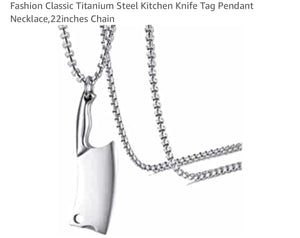 The Foodie Fashion Necklace