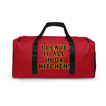 Load image into Gallery viewer, CHEF SHIT!!!! Duffle bag