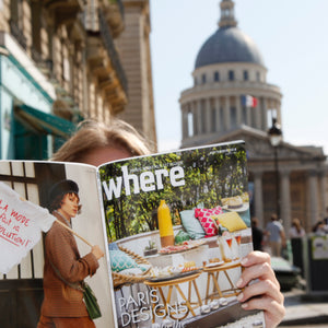 Announcing our association with Where Paris Magazines