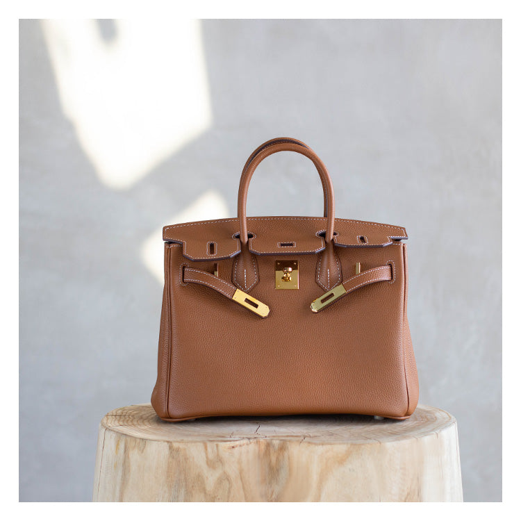 Classic Patty Leather Handbag