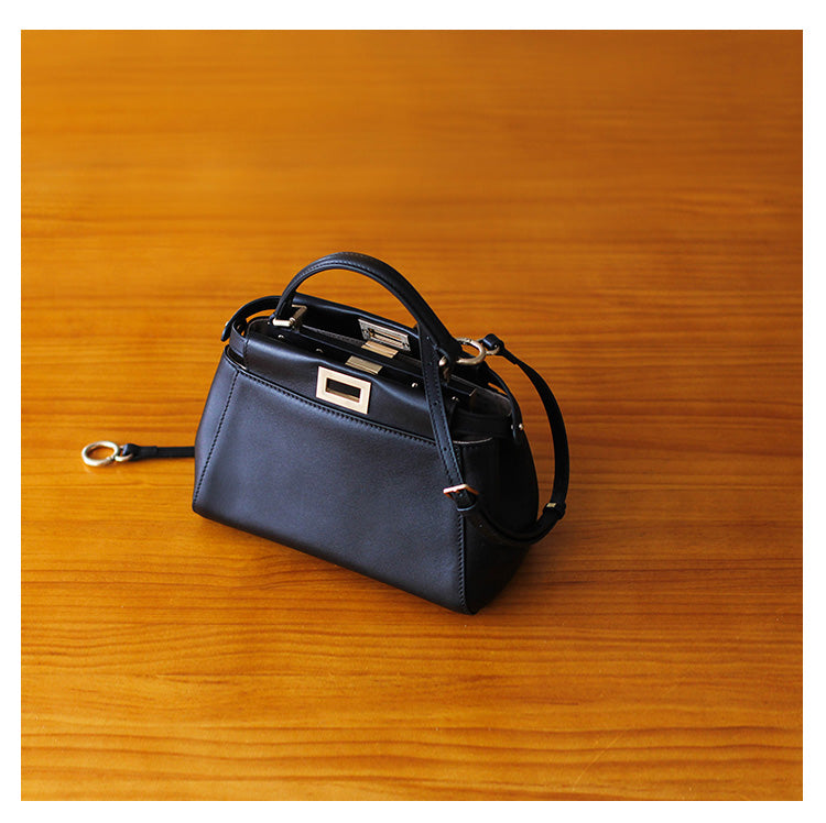 Kitty Leather Handbag