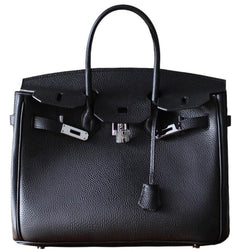 Classic Patty Grain Leather Handbag