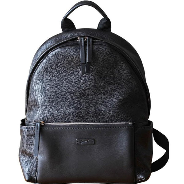 Jetset Grain Leather Travel Bag & Backpack