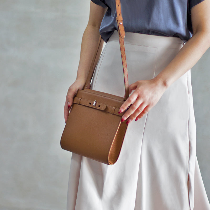 Ryan Leather Shoulder Bag