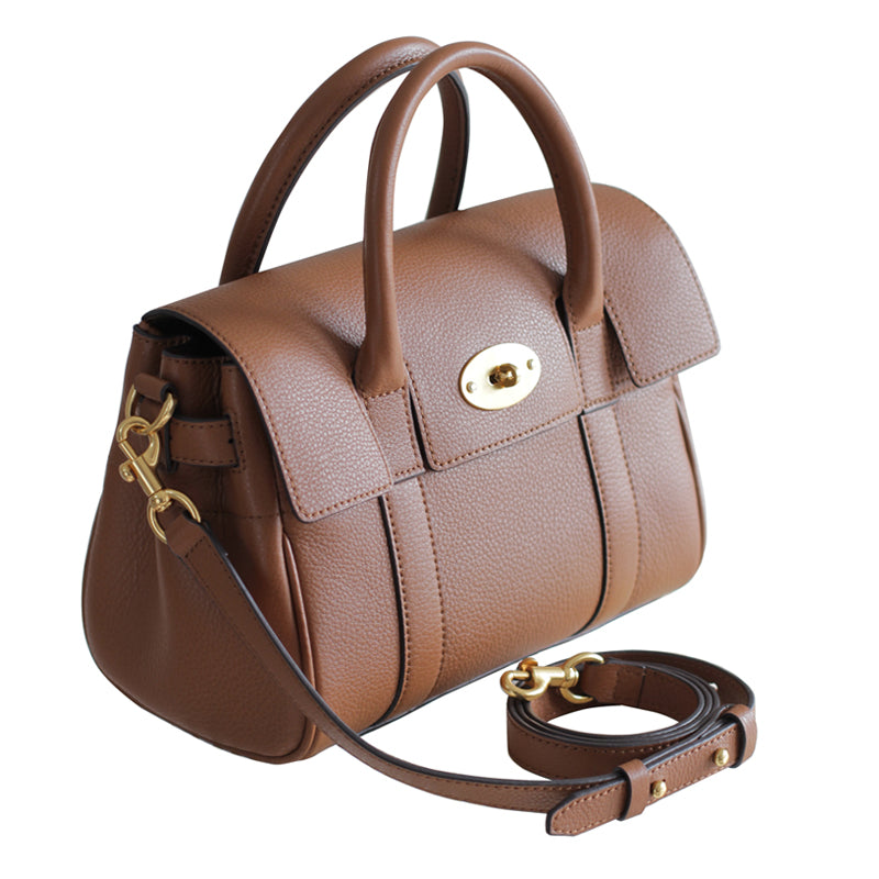 Small Bae Leather Handbag