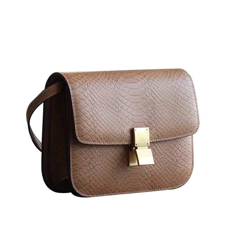 Afra Leather Handbag