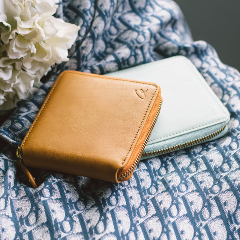 Short Leather Wallet