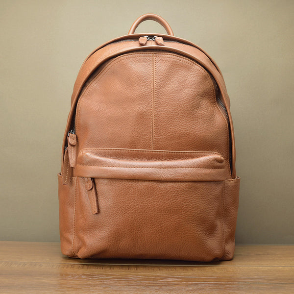 Easy Soft Leather Backpack