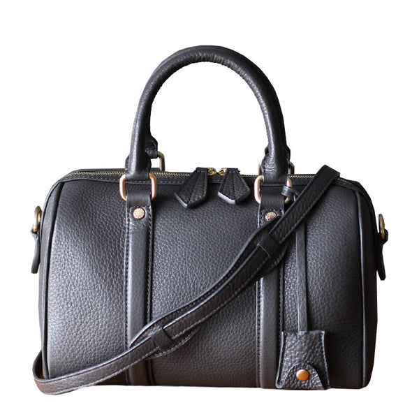 Boston Leather Handbag