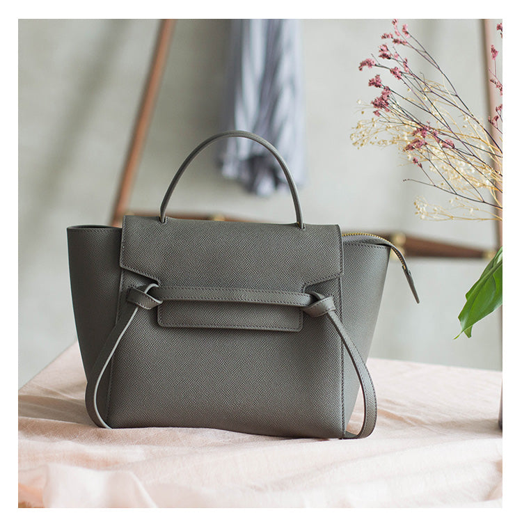 Belt Leather Handbag