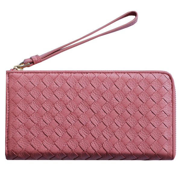 Bridget Handwoven Leather Wallet