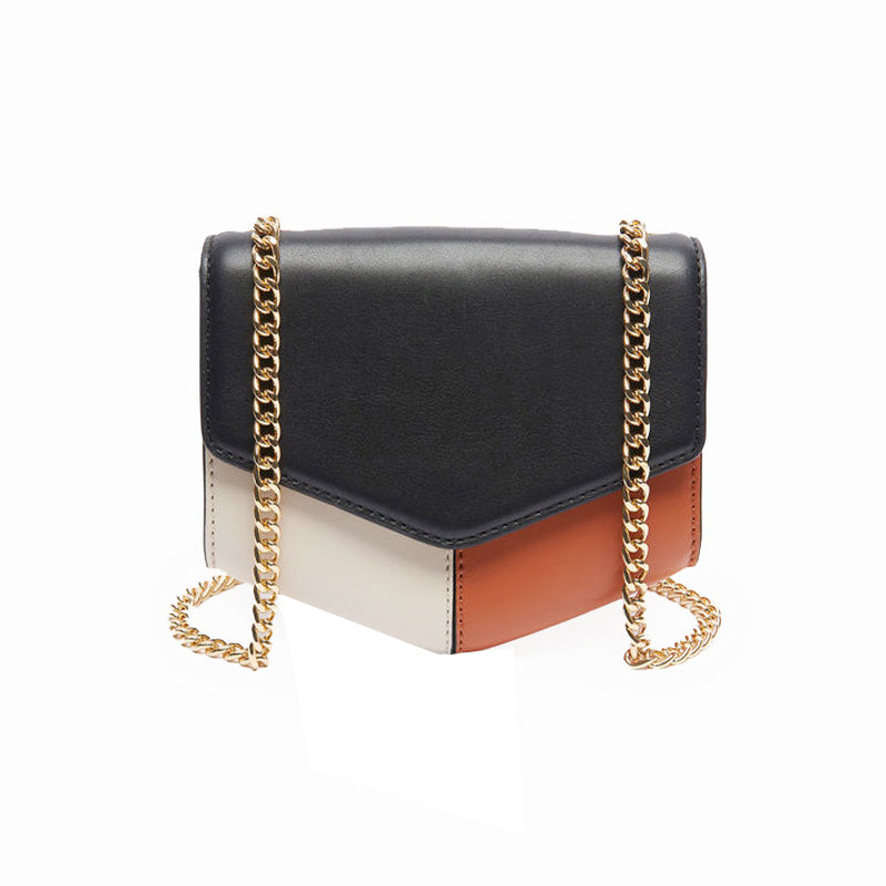 Fatima Top Grain Leather Crossbody Bag