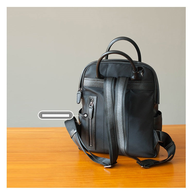 Toni Leather Travel Bag Backpack