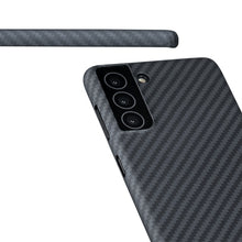 Load image into Gallery viewer, [PRE-ORDER] Samsung Galaxy S21, S21+ & S21 Ultra Phone Case | KEVLAR Edition V2-CarbonThat-Galaxy S21 Ultra **PRE-ORDER **-CarbonThat