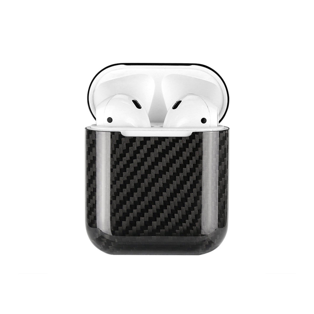 Apple Airpods Carbon Fibre Case Series 1/2 - Gloss Finish - CarbonThat