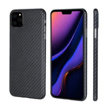 Load image into Gallery viewer, iPhone 11, 11 Pro & 11 Pro Max Phone Case | KEVLAR Edition V2 - Matte Finish - CarbonThat