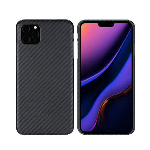 iPhone 11, 11 Pro & 11 Pro Max Phone Case | KEVLAR Edition V2 - Matte Finish - CarbonThat