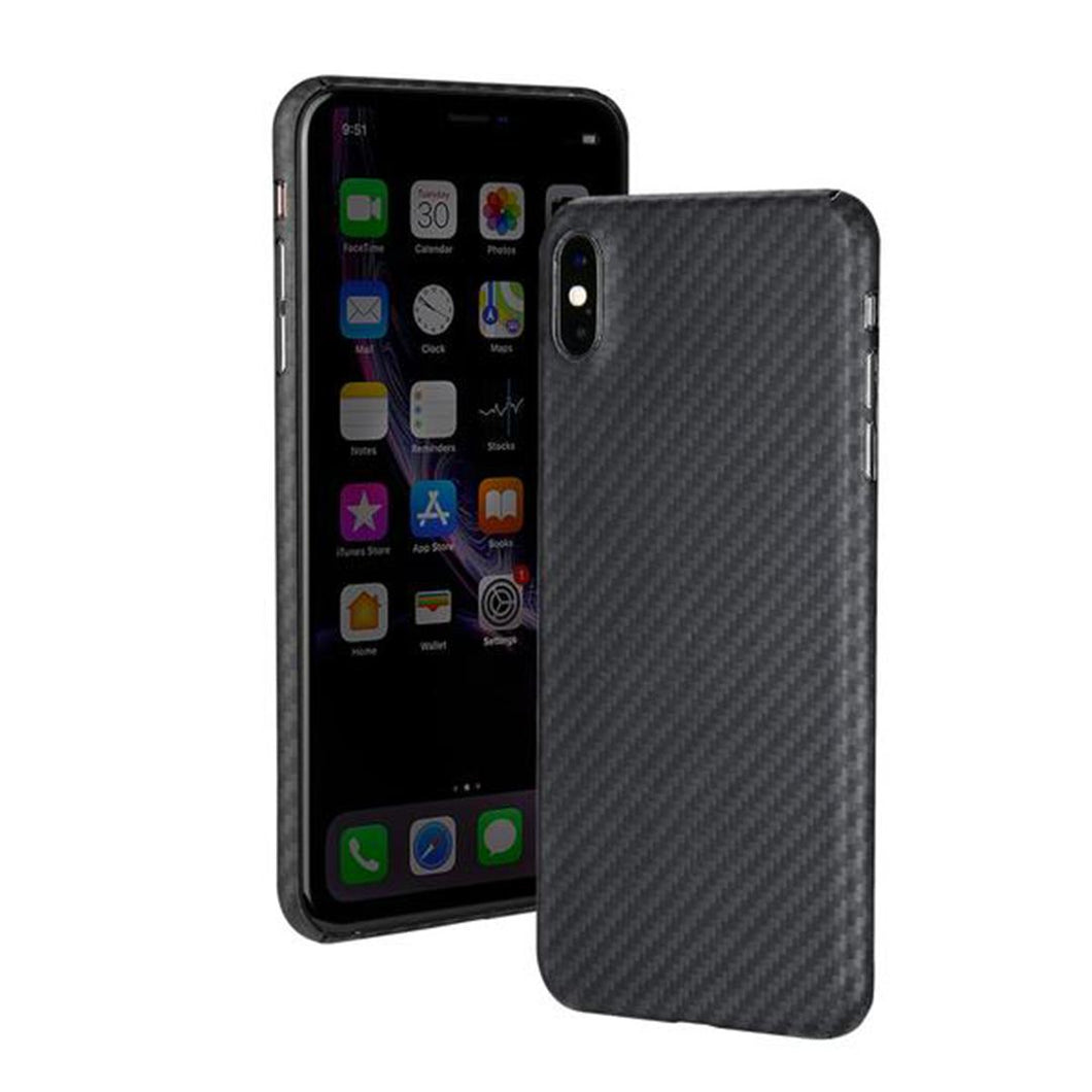 iPhone X & XS Phone Case | KEVLAR Edition V2 - Matte Finish - CarbonThat