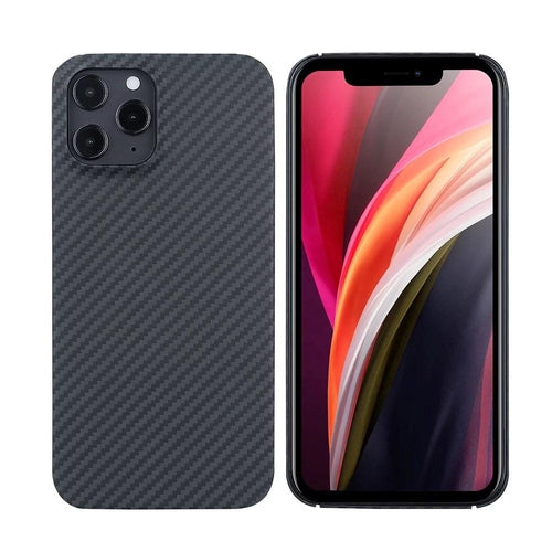 Apple-iPhone 12, 12 Max, 12 Pro & 12 Pro Max Phone Case | KEVLAR Edition V2-CarbonThat-iPhone 12 Pro Max-CarbonThat