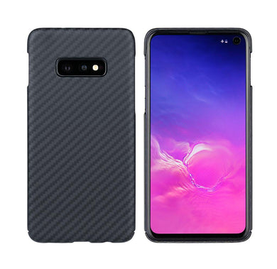 Samsung Galaxy S10e Phone Case | KEVLAR Edition V2 - Matte Finish - CarbonThat