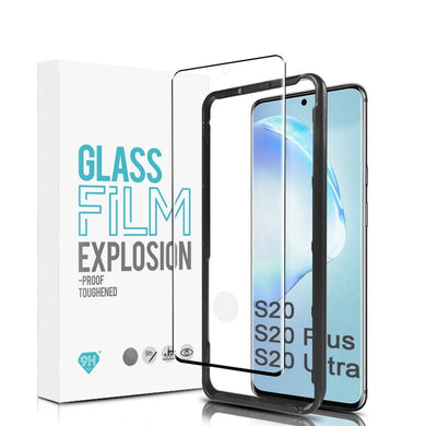 Toughened Glass Screen Protector + Installation Frame For Samsung S20 Series (1 Pack)-CarbonThat-Galaxy S20 Ultra-CarbonThat